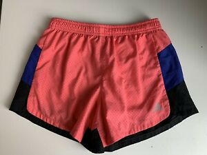 Adidas Girls Youth Medium M 10/12 2 Layer layered fitted loose Running Shorts