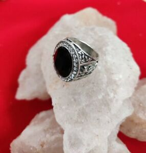 WEALTH RICHNESS POWERFUL MAGIC BLACK STONE RING 5100 SPELLS LOTTERY WEALTH MONEY