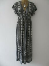 5 Love womens grey stretchy full length summer maxi dress size S (8-10)