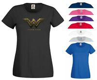 Wonder Woman T Shirt DC Comics DCEU Batman Superman Theme Party Gift Women Top