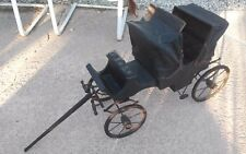 ANTIQUE SALESMAN SAMPLE HORSE DRAWN CARRIAGE