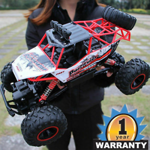 1:16  Kids Boys Toy RC Car Monster Truck 2.4 GHz Remote Control Buggy Big Wheel
