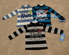 Boys long sleeve rugby shirts Size Large (3 pack)
