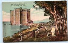 Ile Saint Honorat Monastere Fortifie XI Siecle Lerins Islands Monk Postcard C96