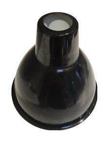 Industrial Vintage Pendant BLACK SHADE METAL LOOK CAFES BARS RESTAURANTS