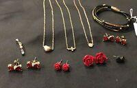 LOT of 9 Women's Fashion Jewelry - Great for Resale - BELOW COST