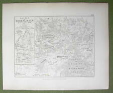 GERMANY Hohenlinden & Environs + Battle of 1800 - (2) Two Maps 1848 Fine Quality