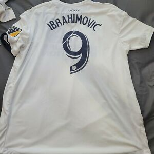 Adidas 2018 LA Galaxy Player Version Authentic Jersey Zlatan Ibrahimovic 2XL