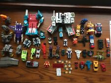 60+ Transformers G1 Gobots toys lot Megatron Metroplex Twintwist Brawn guns used