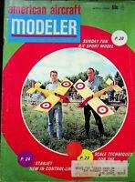 Vtg American Aircraft Modeler Magazine April 1968 Starjet Control Line  m172