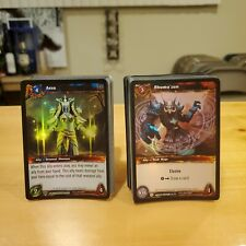 World of Warcraft Trading Card Game Lot of 100 Cards Aspects Treasure Holo WoW