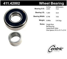 Axle Shaft Bearing-Premium Bearings Rear Centric 411.42002
