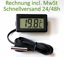 Thermometer digital LCD -20°+110°C Temperatur Anzeige Messer Termometer Siru