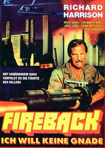 Fireback , 100% uncut , DVD , UK Region , new , Vengeance Commando of Fire , B