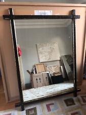 More details for vintage / antique victoria. ebonised gilt mirror