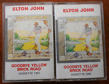 Goodbye Yellow Brick Road 2 Cassettes Made in Australia