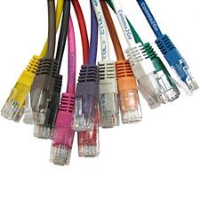 12cm - 50m CAT6 Premium Internet Ethernet Cables RJ45 Patch Lead 100% Copper lot