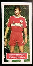 FRANCE - NIMES OLYMPIQUE - ERIC CANTONA - Score UK football trade card