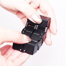 Mini Metal EDC Infinity Cube For Stress Relief Fidget Anti Anxiety Stress Funny