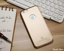 Diseño Ultra Delgada funda para Apple iPhone 6S Plus Funda Estuche - Oro (2CGO)