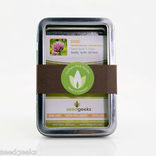 Culinary Herb Garden Seed Gift Set - Gift Set for Gardener FREE SHIP!