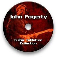 JOHN FOGERTY ROCK GUITAR TAB TABLATURE SONG BOOK ANTHOLOGY TUITION SOFTWARE CD