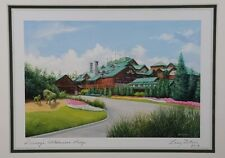 Disney Parks Wilderness Lodge Larry Dotson 8x10 Print Vacation Memories #2 - NEW