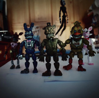 6 Pcs/set Five Nights At Freddy's FNAF Action Figure Toy Bonnie Foxy Freddy Gift