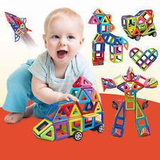 76pcs Magformer Magnetic Building Toys Construction Creative Educational Blocks#