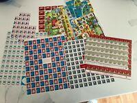 Vintage Holiday Stamps. Christmas Lutheran Wheat Ridge. Sheets & blocks 50's-81.