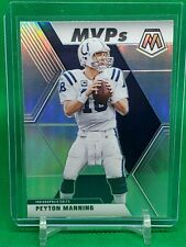 2020 Peyton Manning Mosaic MVPs Silver Prizm Indianapolis Colts