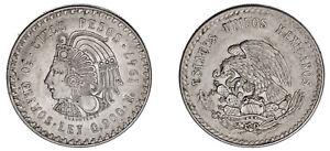 5 SILVER PESOS / PLATA. CUAUHTÉMOC. MÉXICO. 1947. XF+ / EBC+.