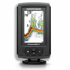 BRAND NEW Humminbird PiranhaMax 4 Boat Sounder Fish Finder Sonar Temp + Transduc