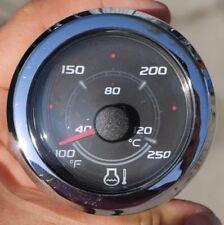 8M0052842 Mercury Mercruiser SC1000 Smartcraft Coolant Temperature Gauge Chrome