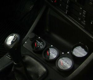 E30 BMW CENTER CONSOLE GAUGE CLUSTER – CNC MACHINED FOR VDO, AEM 325, 325I, 325E