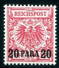 DT KOLONIEN TÜRKEI 1889 7e ** POSTFRISCH TADELLOS ATTEST BPP 1500€(Z8151