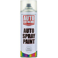 23 x 400ml Clear Lacquer Gloss Spray Paint Aerosol Can Auto Extreme Van Car Bike