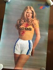 1970's Vintage Keds Sneakers Poster Woman Shorts T-Shirt