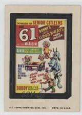 1975 Topps Wacky Packages Series 11 #61MA 61 Magazine Non-Sports Card z6d