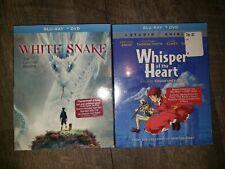 WHITE SNAKE & Whisper of the Heart Blu-ray + DVD Lot