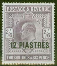 Lightly Hinged British Levantine Edward VII (1902-1910) Stamps