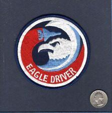 "F-15 EAGLE DRIVER USAF FS TFS 4"" Squadron Patch"