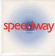 (EB558) Speedway, Can't Turn Back - 2003 DJ CD