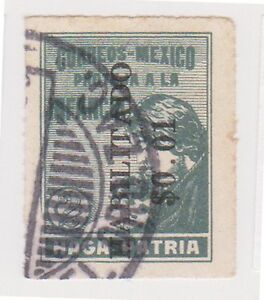 (MCO-167) 1929 Mexico 2c green tax stamp (A)