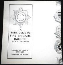Fire Brigade Cap Badges. 1st publication. 1979.
