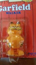 "Rar1981 VTG ""Garfield"" Wind-up toy Plastic NIP Art Card-Kat's Meow/UFS"