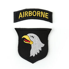 US Army 101St Airborne Division ACU Patch W. Tab Hook Authentic 2Nd Freesh