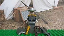 LEGO Civil War General Robert E Lee Gray C 100% Genuine LEGO elements