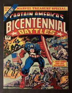MARVEL TREASURY SPECIAL #1 - 1976 CAPT AMERICAS BICENTENNIAL BATTLES - VFN (8.0)