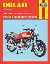Haynes Workshop Manual for Ducati V-twins 1971 to 1979